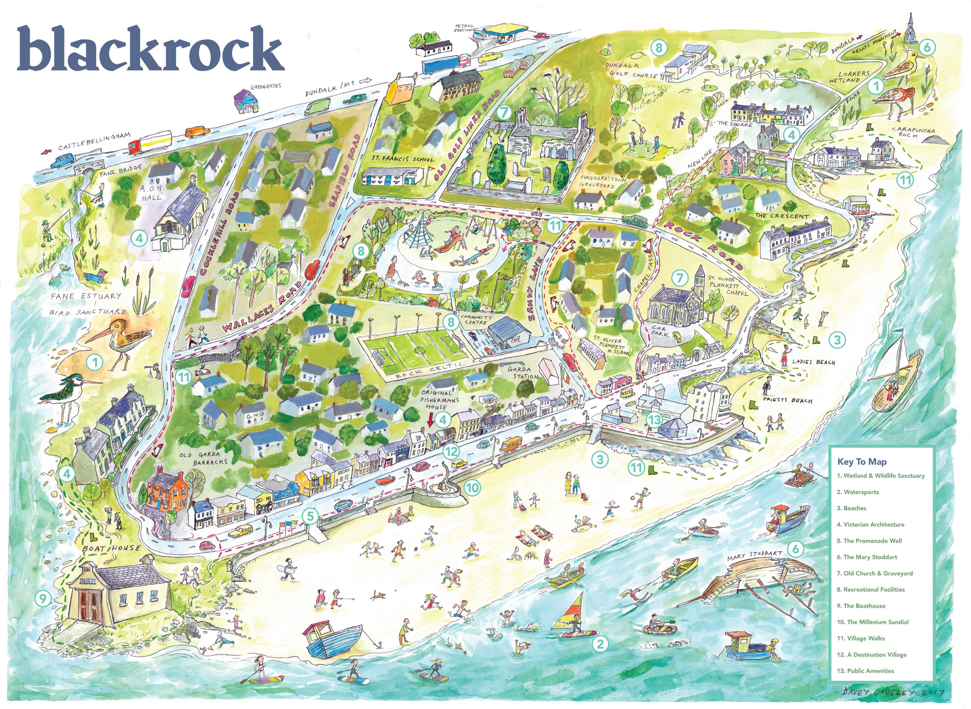 Blackrock Tourist Guide and Walking Map Launched | Visit ...